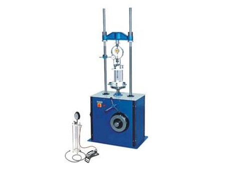UNIVERSAL TRIAXIAL SHEAR APPARATUS- MOTORISED: