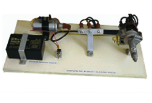 Model No. XS-40 DEMONSTRATION BOARD OF IGNITION SYSTEM OF AN AUTOMOBILE 4 WHEELER