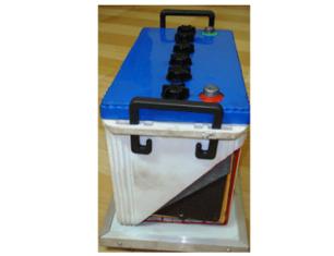 Model No. XS-44.  CUT SECTION MODEL OF ALKALINE BATTERY