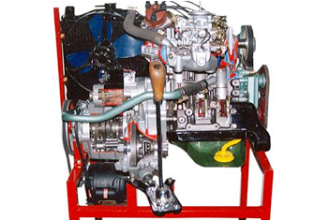 Model of Maruti 800cc Car Engine