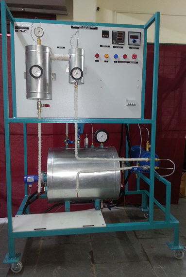SEPARATING THROTTLING CALORIMETER WITH BOILER & CONDENSER TEST RIG