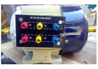 3-PHASE AC SQUIRREL CAGE INDUCTION MOTOR (DAHLANDER TYPE)