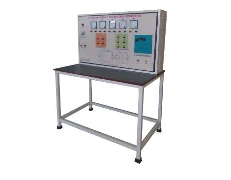 DC Series Motor# DC Compound Generator Control Panel