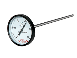 CONCRETE THERMOMETER / DIAL THERMOMETER:
