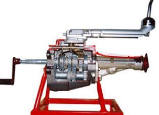 Model of Car Gear Box