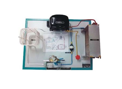 Model For Refrigeration & Air conditioning System