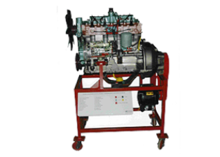 Model No.XS-09 CUT SECTION MODEL OF FOUR STROKE FOUR CYLINDER INDIRECT INJECTION DIESEL ENGINE (WORKING)