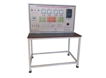 Slip Ring Induction Motor# DC Shunt Generator Control Panel