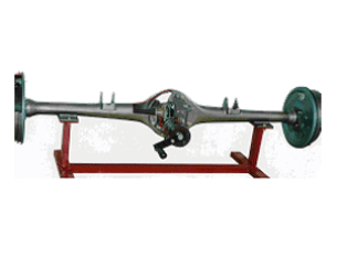Model No.XS-29 CUT SECTION MODEL OF SEMI FLOATING DIFFERENTIAL & WHEEL MECHANISM