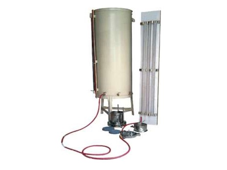 SOIL PERMEABILITY APPARATUS WITH TANK (CONSTANT HEAD AND FALLING HEAD PERMEABILITY APPARATUS):