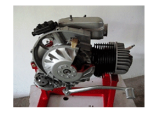 Model No.XS-14 CUT SECTION MODEL OF TWO STROKE SINGLE CYLINDER ENGINE