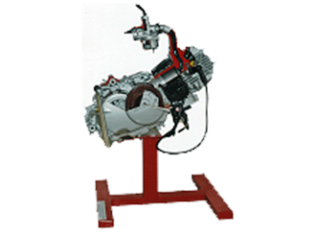 Model No.XS-13 CUT SECTION MODEL OF 4-STROKE 1-CYLINDER ENGINE ASSEMBLY (Hero Honda)