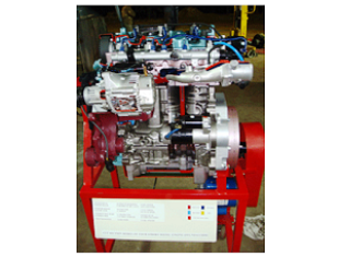 Model No.XS-11 CUT SECTION MODEL OF 4-STROKE 4-CYLINDER DIESEL CRDI ENGINE