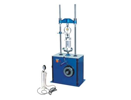 MOTORISED TRIAXIAL SHEAR TEST APPARATUS (SIX SPEED):