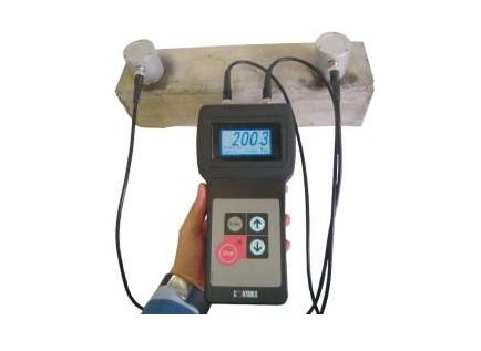 ULTRASONIC PULSE VELOCITY TESTER: