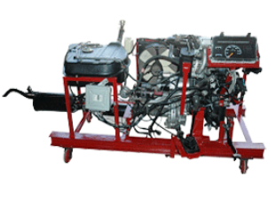 Model No. XS-67 FOUR STROKE PETROL MPFI ENGINE WITH CNG SETUP (WORKING CONDITION)