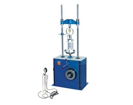 MOTORISED TRIAXIAL SHEAR TEST APPARATUS (SINGLE SPEED):