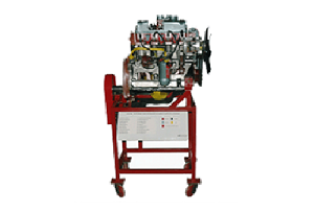 Model No. XS-03:  CUT SECTION MODEL OF ENGINE, TRANSMISSION SYSTEM & END DRIVE