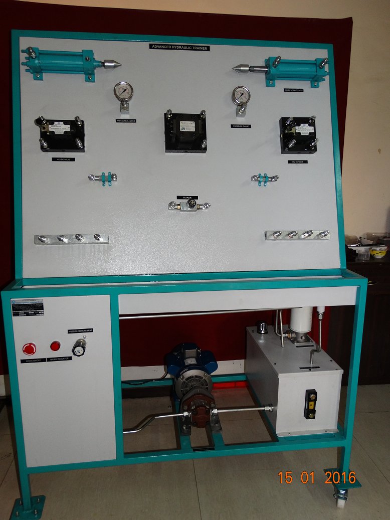 Oil Hydraulic Circuit Trainer
