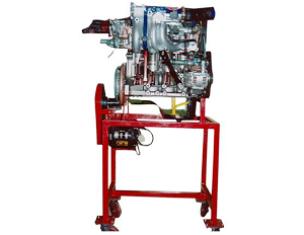 Model of Maruti Zen MPFI Engine