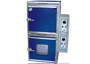 AIR OVEN & INCUBATOR COMBINED (TWIN MODEL):