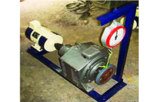 EDDY CURRENT DYNAMOMETER FOR MOTOR TESTING
